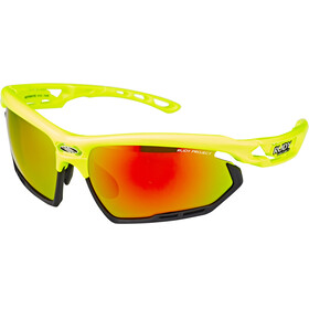 Rudy Project Fotonyk Glasses Yellow Fluo Gloss - RP Optics Multilaser Orange